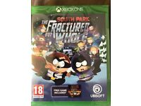 Xbox One South Park The Fractured but Whole Game Brand New