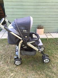Silver Cross Cargo Pram, Buggy and Travel System