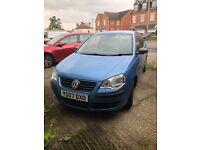 Volkwagon polo 1.2 petrol blue 3 door