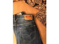 Men's diesel jeans size 32waist 32 long