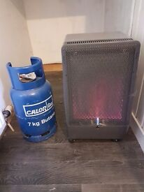 Superser calor gas fire with full bottle and also an empty bottle £45