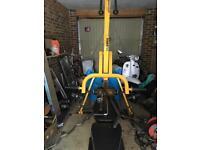 Power tech leverage multi gym