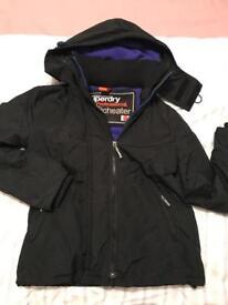Ladies Superdry Windcheater Jacket, Size Medium