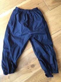 Jo jo mamman baby waterproof trousers x2