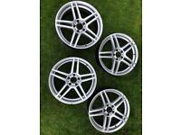 """18"""" alloy wheels. To fit Mercedes."""