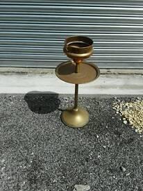 Brass jardiniere plant stand