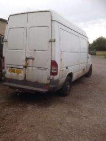 Mercedes sprinter 2006 none runner