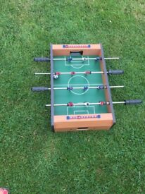 Table Football - ideal for keeping your little ones busy indoors!
