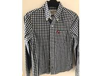 A&F Abercrombie and Fitch boys shirt size L approx 8-10 years
