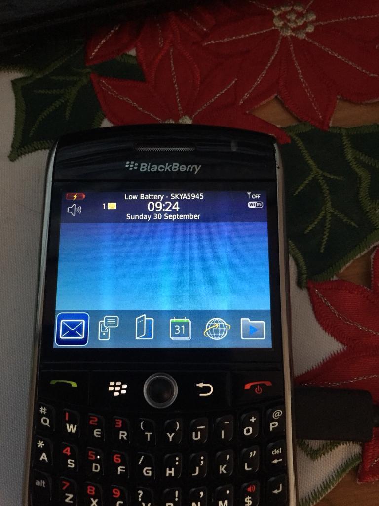 Blackberry 8900 on o2