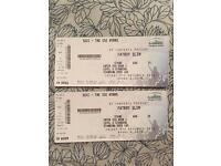 2x Fatboy Slim Standing Tickets Glasgow