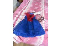 Brand new Girl's Spiderman Fancy Dress costume - Age 5yrs