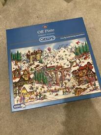 Ski puzzle 1000 pieces