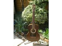 1957 Hofner Flamenco, refurbished, electro-acoustic, super action.