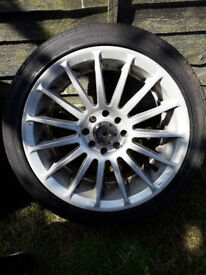 Allow wheels for grab £100. Need new tyres.