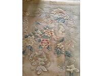 Large traditional wool rug