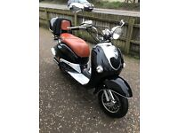 motor scooter 125 cc