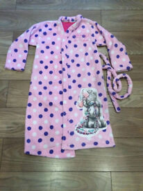 Marks and Spencer Me To You Tatty Teddy dressing gown/robe for girl 11-12 years, very good condition