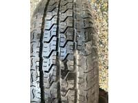 Renault trafic wheel and tyre 205/65r 16
