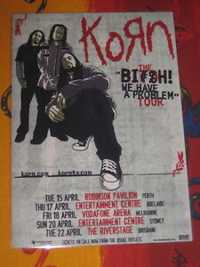 KORN-BITCH-PROBLEM-AUSTRALIAN-TOUR-PROMO-TOUR-POSTER