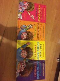 Horrid Henry Children Books