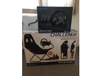 Playseat challange, Logitech g29 and shifter. Boxed
