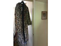 Sold-out, full-length Per Una Fake Fur coat Size 18