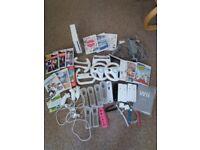 Wii Bundle including 13 Games
