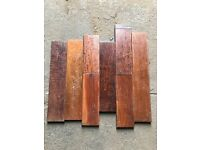 Reclaimed Walnut Hardwood Flooring - 35 m2 in stock!