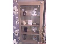 Light oak bookcase from very as new