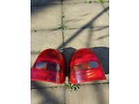 Vauxhall Corsa B (92-00) Pair Rear Lights And Bulb Holders
