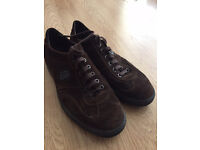 Samsonite Brown Suede shoes trainers UK size 9