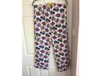 Men's comic book pyjama bottoms new without tag