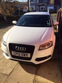 "Audi A3 S-Line Sportback Black Edition 2.0 TDI White 18"" Alloys (FSH, New Tyres)"