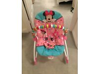 Mini Mouse Baby Bouncy Chair