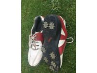 Boys Footjoy Golf Shoes UK4