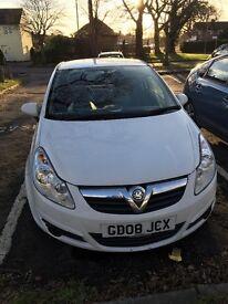 Vauxhall corsa van 1.3 eco white
