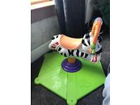 Fisher price bounce and play