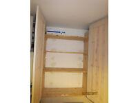 Pair of kitchen cupboard doors