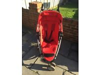 Reduced price! Red, Quinny Zapp 360 buggy, VGC. With/out Maxi Cozi baby carrier car seat (red, VGC)