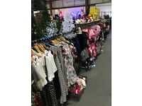 massive job lot of ladies clothing -bankrupt stock- job lots-wholesale - end of line surplus