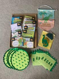 Birthday party bundle dinosaur