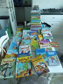 Childrens Books 60 Disney and Enid Blyton (Sleeping Beauty, Cinderella,Little Mermaid, Alladin etc.)