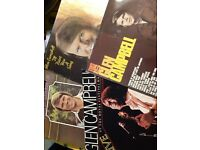 Glen Campbell LP's