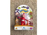 BRAND NEW TELETUBBIES PO WITH SCOOTER FIGURE