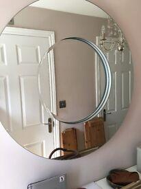 Large Round Laura Ashley Mirror!