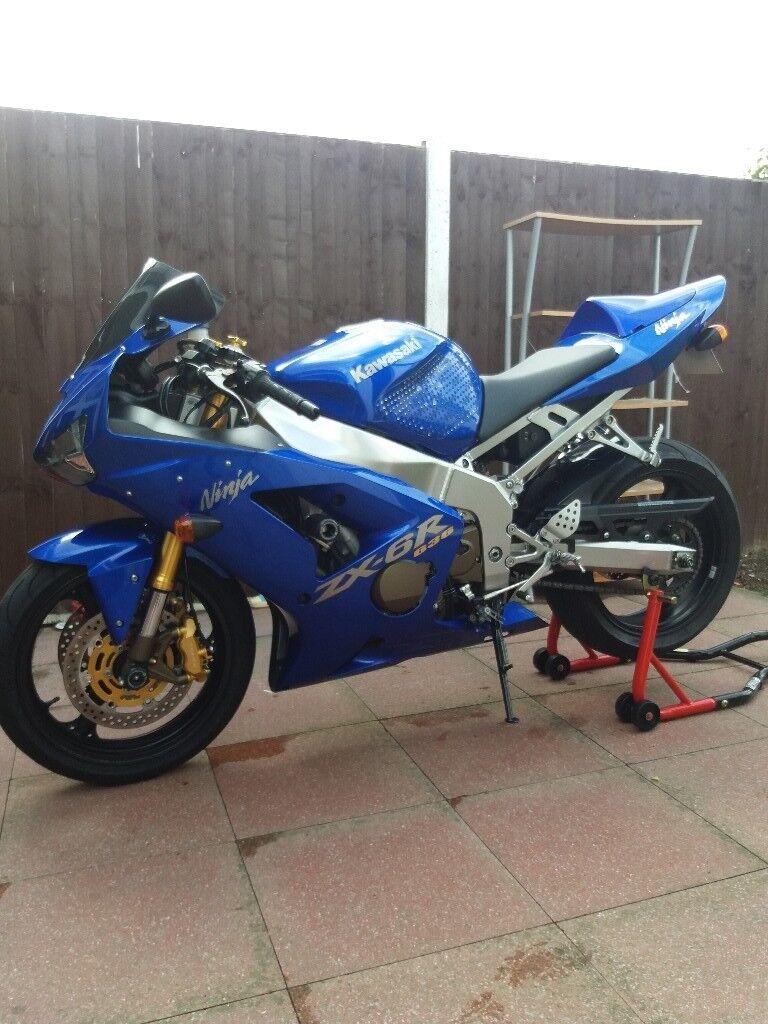Kawasaki Ninja Zx6r 636cc Not R1 R6 Gsxr Cbr Fireblade In Electronic Motocycle Ignition Cdi Honda C 90