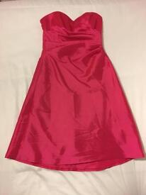 Hot Pink Impressions Bridal Bridesmaid dress in size 8