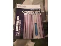Leckie and Leckie Nat5 chemistry textbooks