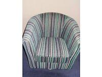 'Relaxateeze' Swivel Tub Chair